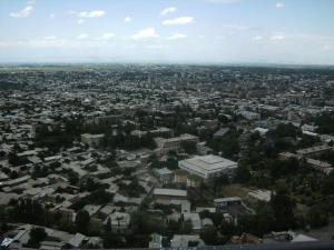 Osh city, veiw from Sulaiman mountain