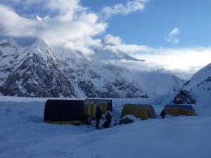Base Camp on Khan-Tengri Peak